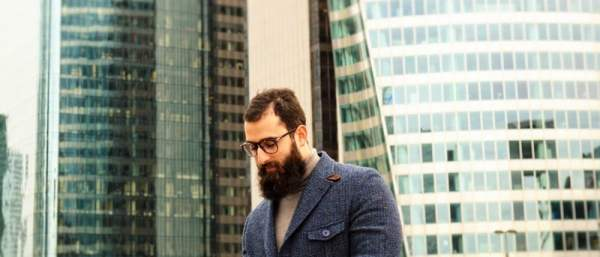 Le Comptoir de la barbe x L'HommeTendance.fr photo: Paris La Défense
