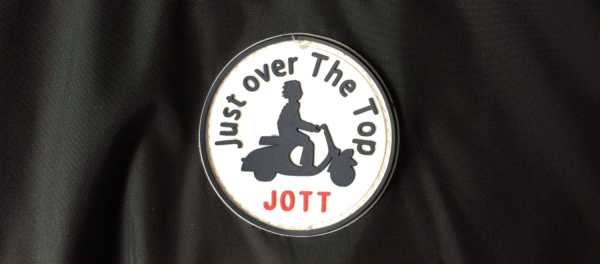 Logo JOTT/ Just Over The Top