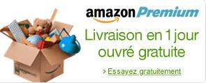 Livraison rapide et gratuite avec Amazon Premium