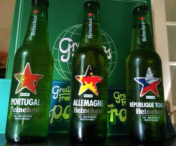 Bouteilles Heineken-Countries-Edition 2016
