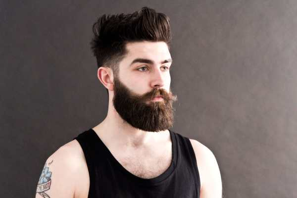 Huile de ricin barbe: soin hydratant