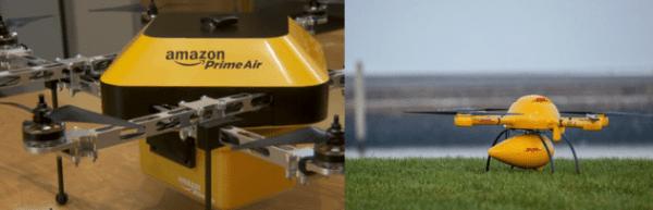 Livraison par drones par Amazon
