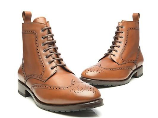 Derby boots pour homme marron // A retrouver sur shoepassion.fr