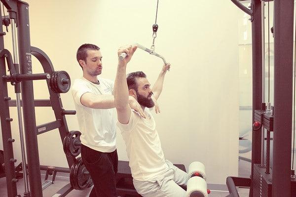 SpiceBomb séance de musculation intensive au CWhite avec un coach sportif