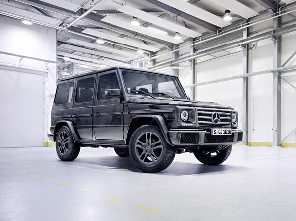 Mercedes-Benz G-Klasse 2015, G 350 d, Exterieur: tenoritgrau metallic