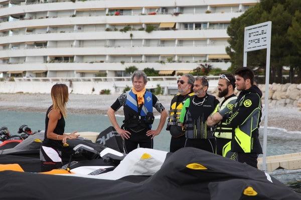 Test motos marine SEA-DOO: briefing de rigueur