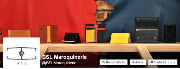 BSL Maroquinerie sur Facebook