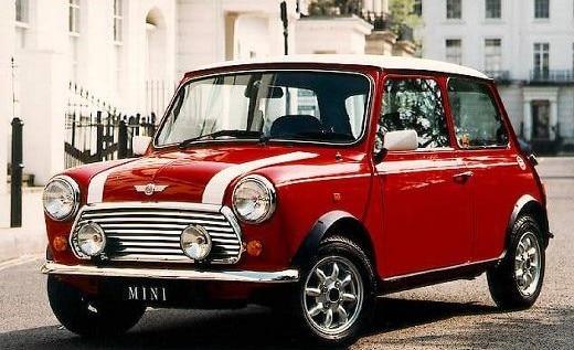 Mini Cooper 1991 rouge par Rover