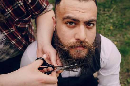 Tailler pour faire pousser une grosse barbe