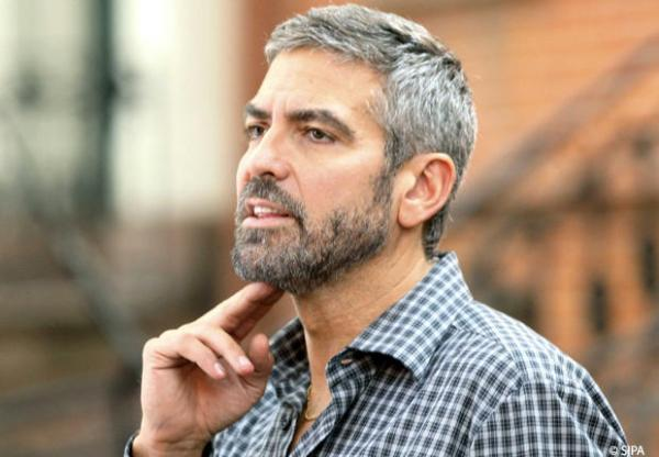 barbe-blanche-georges-clooney