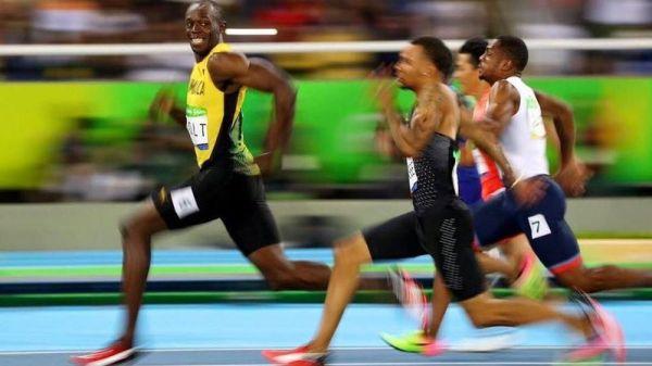 Usain Bolt si facile