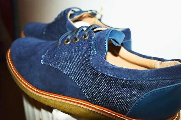 Derby Funny Game bleu/denim