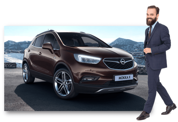 LOOK DANDY Business x OPEL MOKKA X Espresso