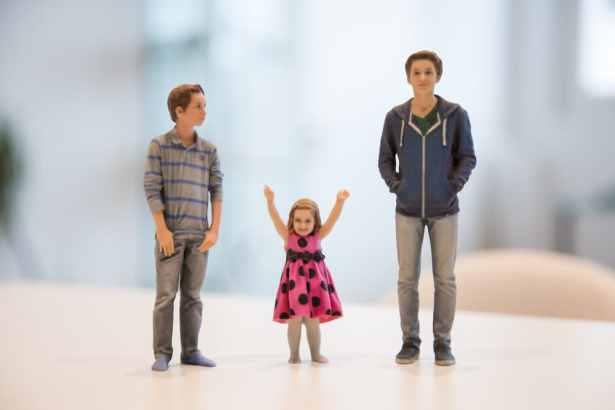 figurines 3D réalistes d'enfants