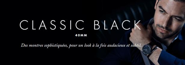 Montres Daniel Wellington CLASSIC BLACK