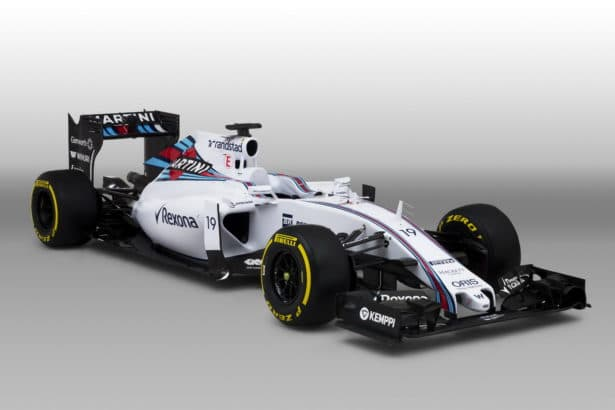La fameuse Williams FW33, le must de la conduite en Formule 1