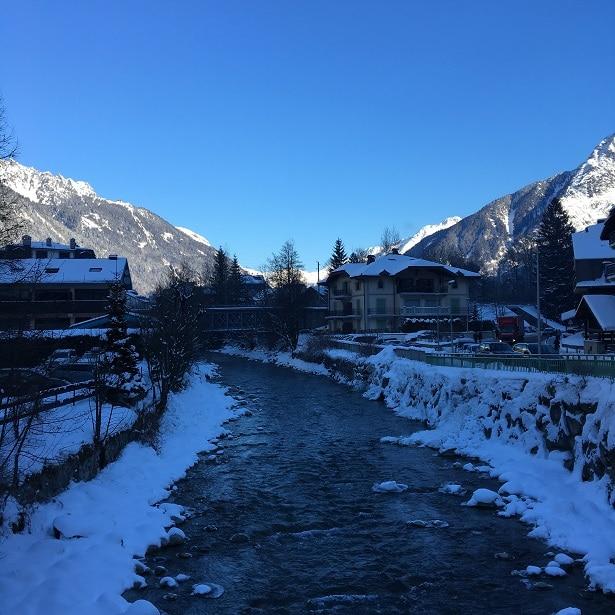 L'Arve passe par Chamonix