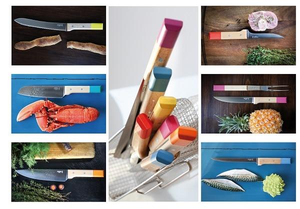 Accessoires indispensables pour sa cuisine - La Gamme Opinel POP