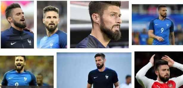 Olivier Giroud barbe
