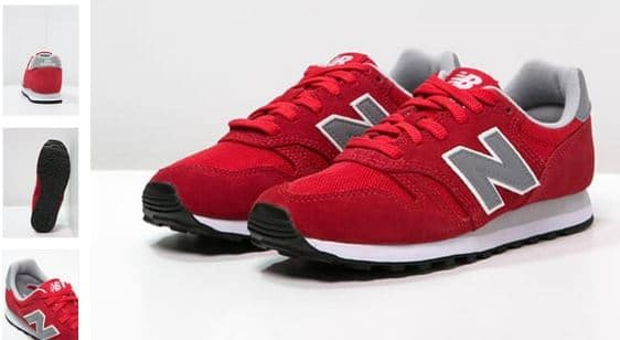 new balance homme blanche et rouge