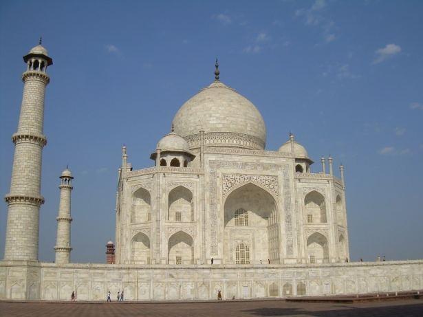 Côté du Taj Mahal