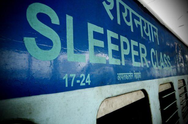 Train de nuit - Inde