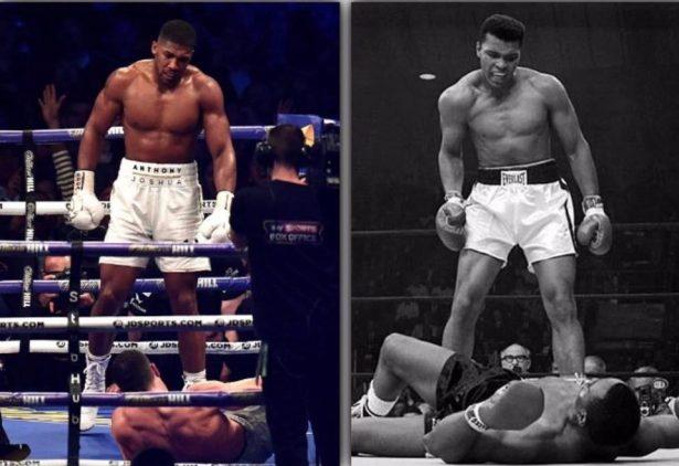 Anthony Joshua vs Wladimir Klitschko / Muhammad Ali vs. Sonny Liston