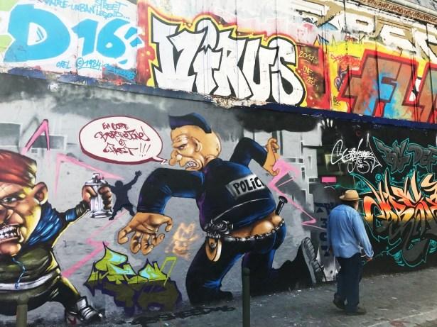 Expression libre de la rue Desnoyer.
