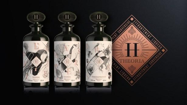 La nouvelle marque H.THEORIA «effrontément liqueurs»