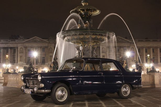 Peugeot 404 de 1963 - Crédit photo parisbalade
