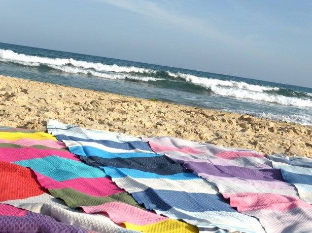 Fouta serviette de plage