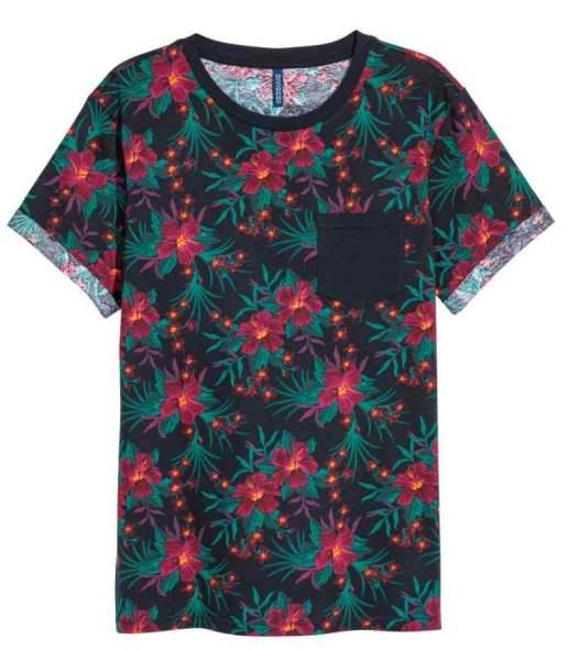 T-shirt avec poche de poitrine