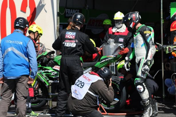 Bol D'or 2017 ravitaillement