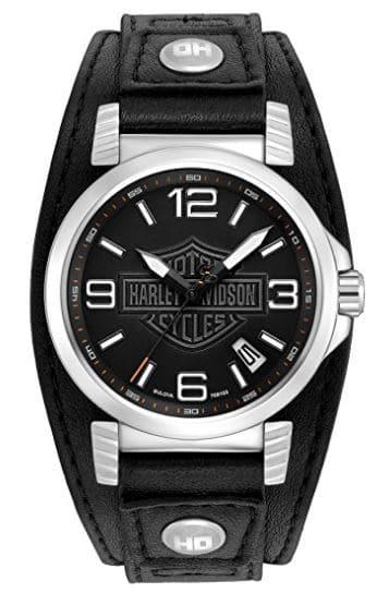 montres-harley-davidson-bracelet-cuir