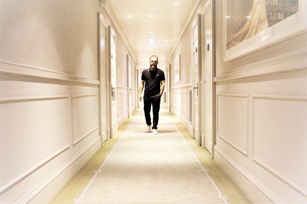 Dans les couloirs du Hilton Opéra Paris