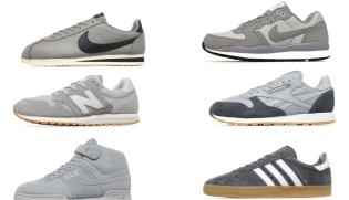 competitive price 8d3c9 76a0c Sneakers grises pour homme  sélection tendance 2017