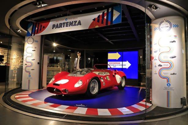 Maserati Tipo 63 V12, une pure merveille au MotorVillage