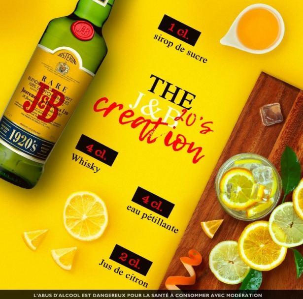 THE J&B 20'S CREATION