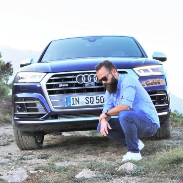 SQ5 TFSI Audi x L'Homme Tendance