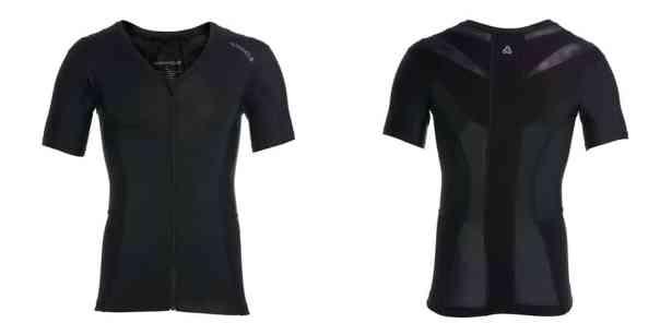 Anodyne -T-Shirt de posture classique avec zip