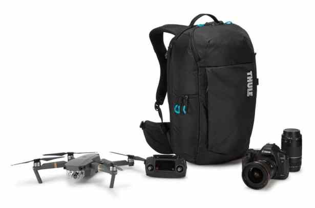 Le sac à dos pour drone et appareil photo Thule