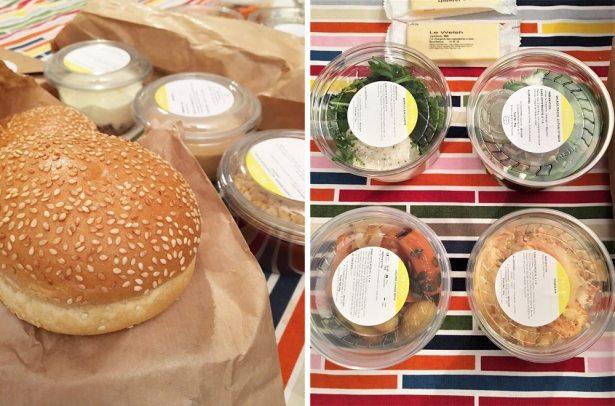 Des bons produits pour une soirée Burger réussie by Frichti