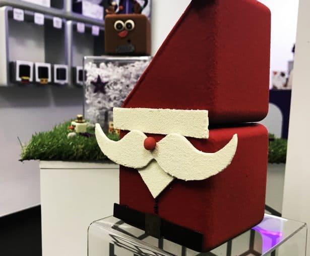 Papa Noël fourré de truffes chez Choco² ou Choco au carré