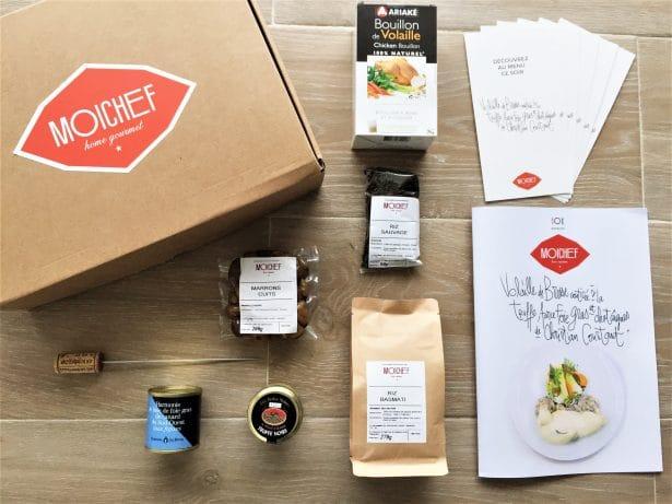 Une box Gourmande avec MoiChef et Christian Constant