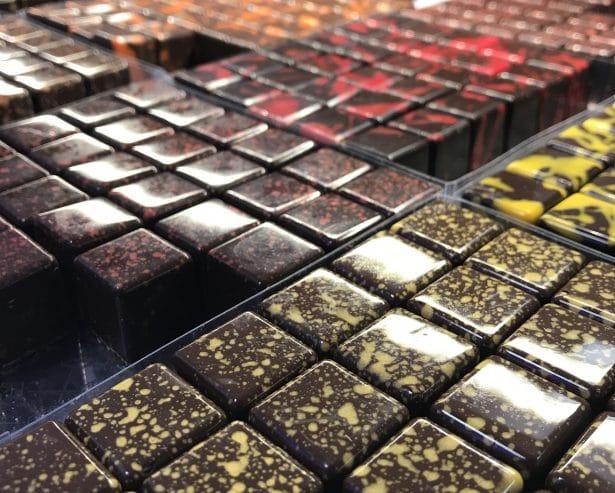 Vaste choix de Chocolats Carrés mes coups de cœur Vanille et Cacahuète - choco au carré