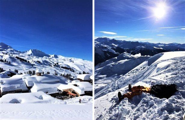 Du soleil, de la neige et du repos à La Plagne