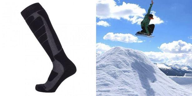 Elbrouz by la Chaussette de France pour la performance et la chaleur pendant vos journées de snow ou ski !