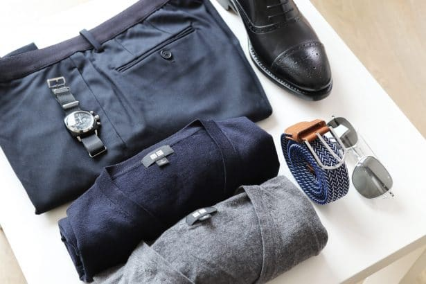 Outfitgrid Uniqlo + accessoires pour un look back to work