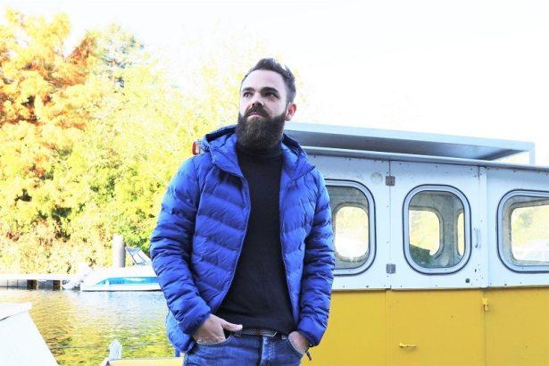 Doudoune homme ultra légère bleue Uniqlo testé par L'HommeTendance.fr