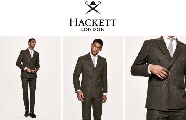 Hackett London - Costumes à l'anglaise de qualité
